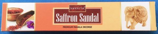 saffron sandal incenso
