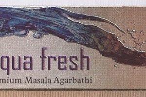 incenso aqua fresh