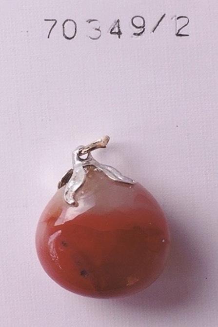 ciondolo agata rossa