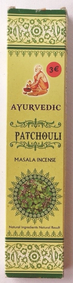 incenso patchouli