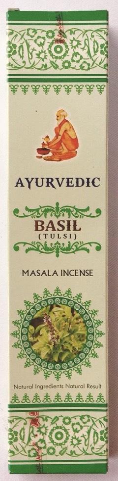 incenso basilico