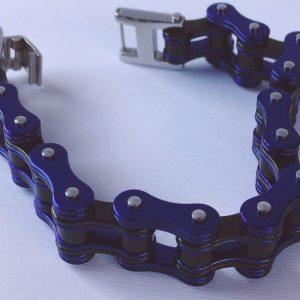 catena blu e nera