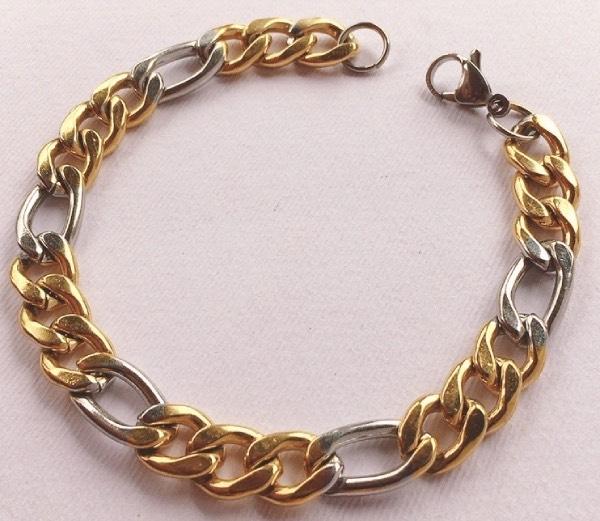 braccialetto bicolore