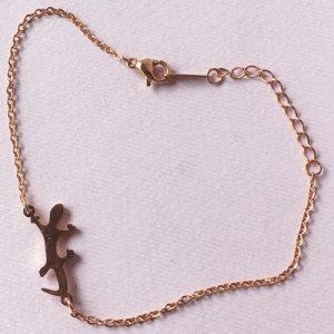 braccialetto rosato