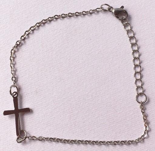 braccialetto croce