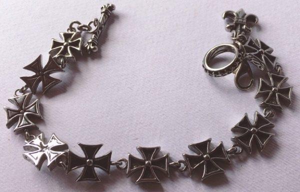 braccialetto croci celtiche
