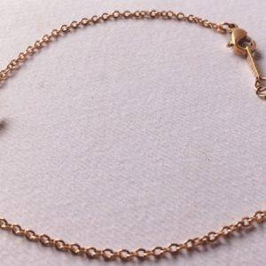 braccialetto acciaio rosato