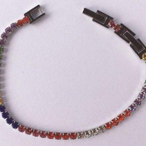 braccialetto cristalli