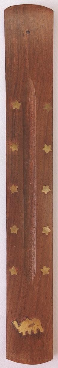 brucia incenso legno