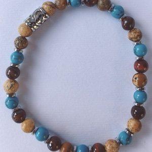 braccialetto turchese