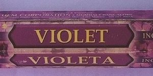 incenso hem violet