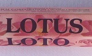 incenso hem lotus