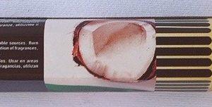 incenso cocco
