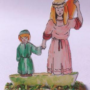 statua cartoncino
