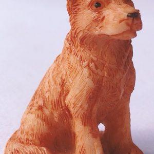 statuetta cane presepe