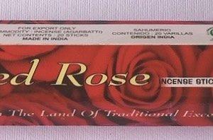 incenso rosa rossa