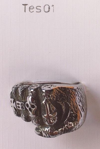 anello teschio