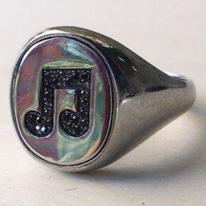 anello nota musicale