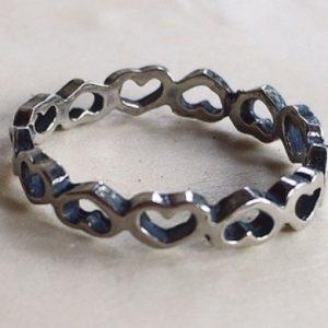 anelli cuore