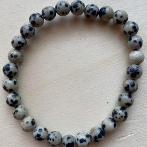 braccialetto diaspro dalmata