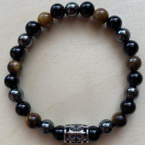 braccialetto ematite