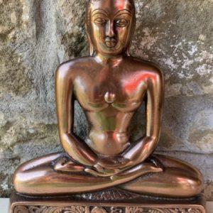 buddha figura rame